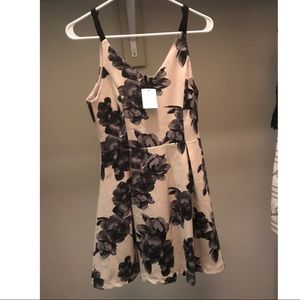 Lush Fit and Flare Floral Dress